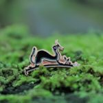 Weasel Pin Badge