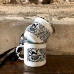 Forest Distillery Enamel Mugs - Pack of 2